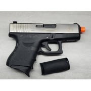 Pistola Airsoft WE Glock G27 G4 Silver