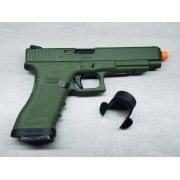 Pistola Airsoft WE Glock G34 G3 Green