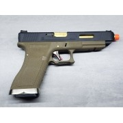 Pistola Airsoft WE Glock G35 T06