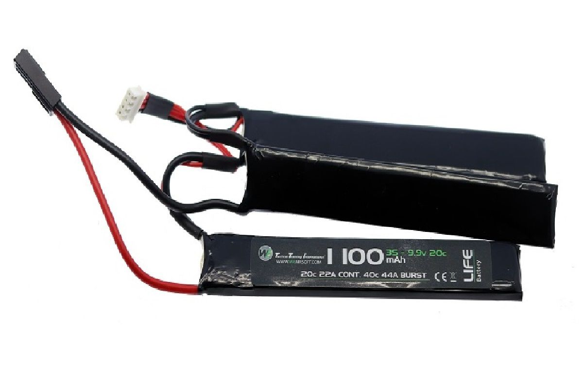 Bateria WE LiFe 9.9v 1100mAh 20c TRIPLE 0060