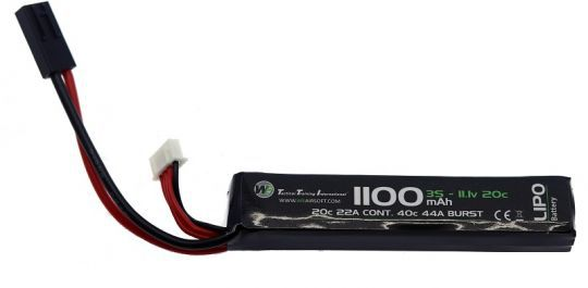 Bateria WE LiPo 11.1v 1100mAh 20c STICK 0011