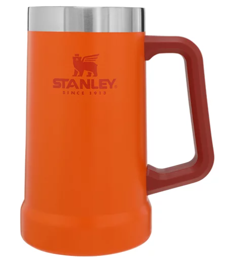 Caneca Térmica Stanley de Cerveja Signal Orange 0,709L