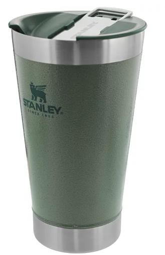 Copo Térmico  de Cerveja Stanley Com Tampa Hammertone Green 0,473L