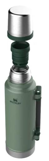 Garrafa Térmica Stanley Classic Hammertone Green 1,0L