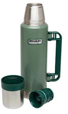 Garrafa Térmica Stanley Classic Hammertone Green 1,3L
