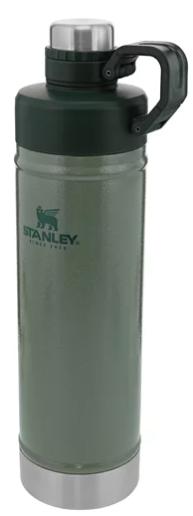 Garrafa Térmica Stanley Classic Hydration Hammertone Green 0,75L