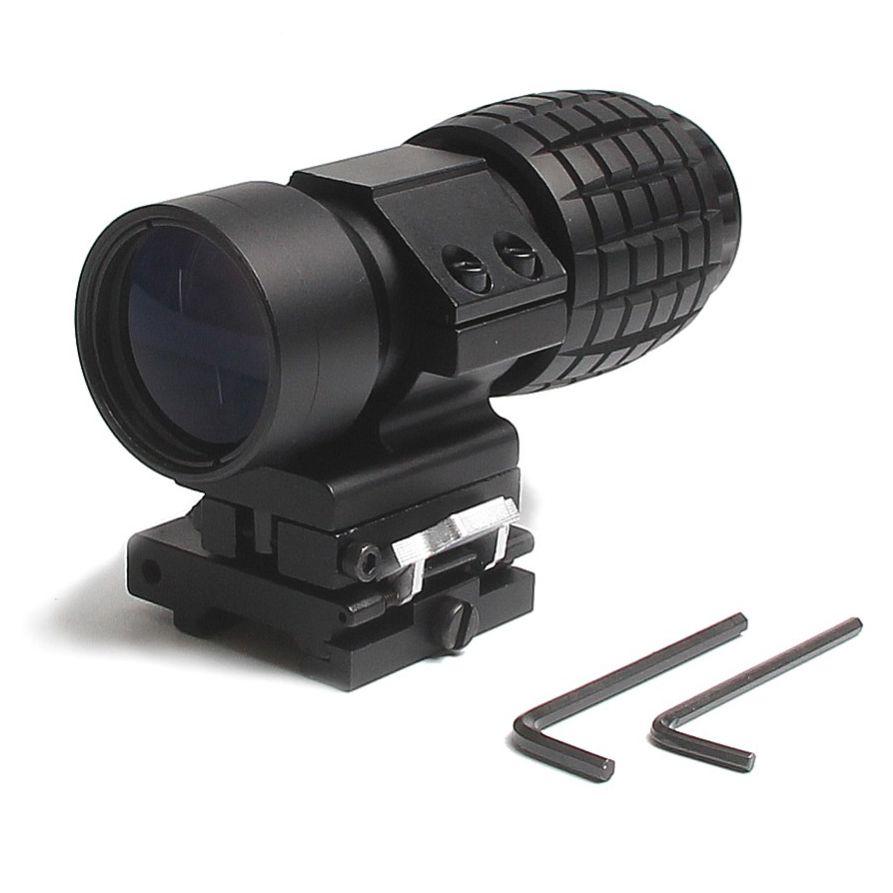 Magnifier Airsoft Titan Preto