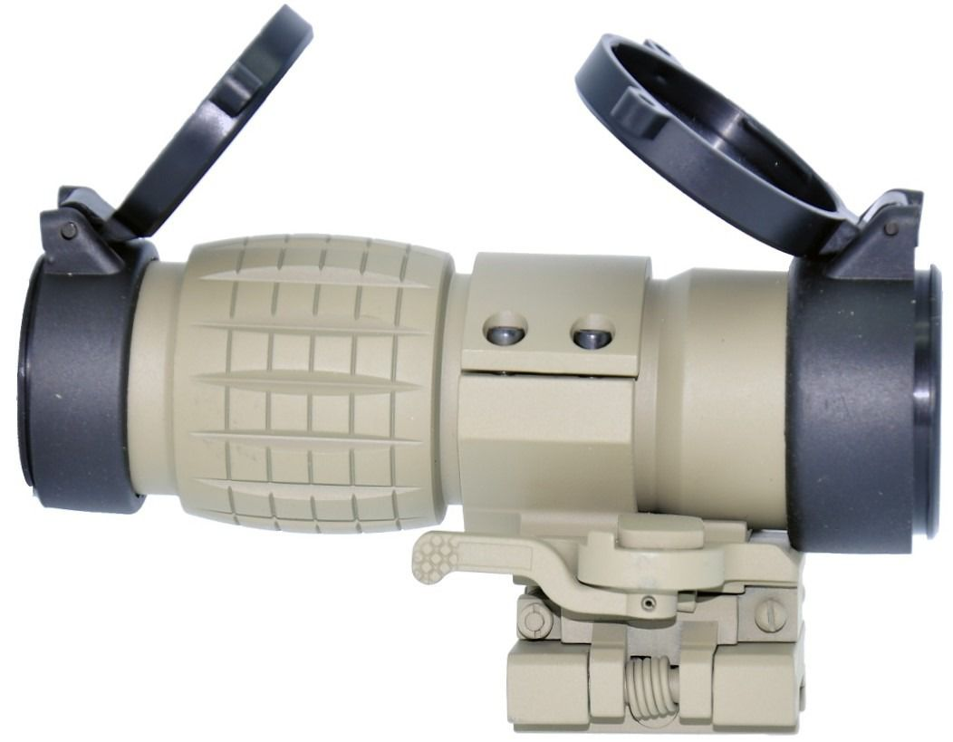 Magnifier Airsoft Titan Tan