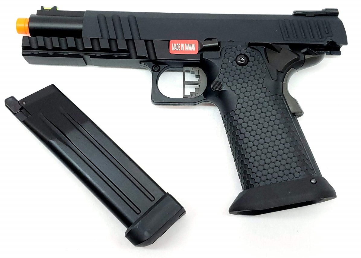 Pistola Airsoft Armorer Works Hicapa HX2003 Black Ace