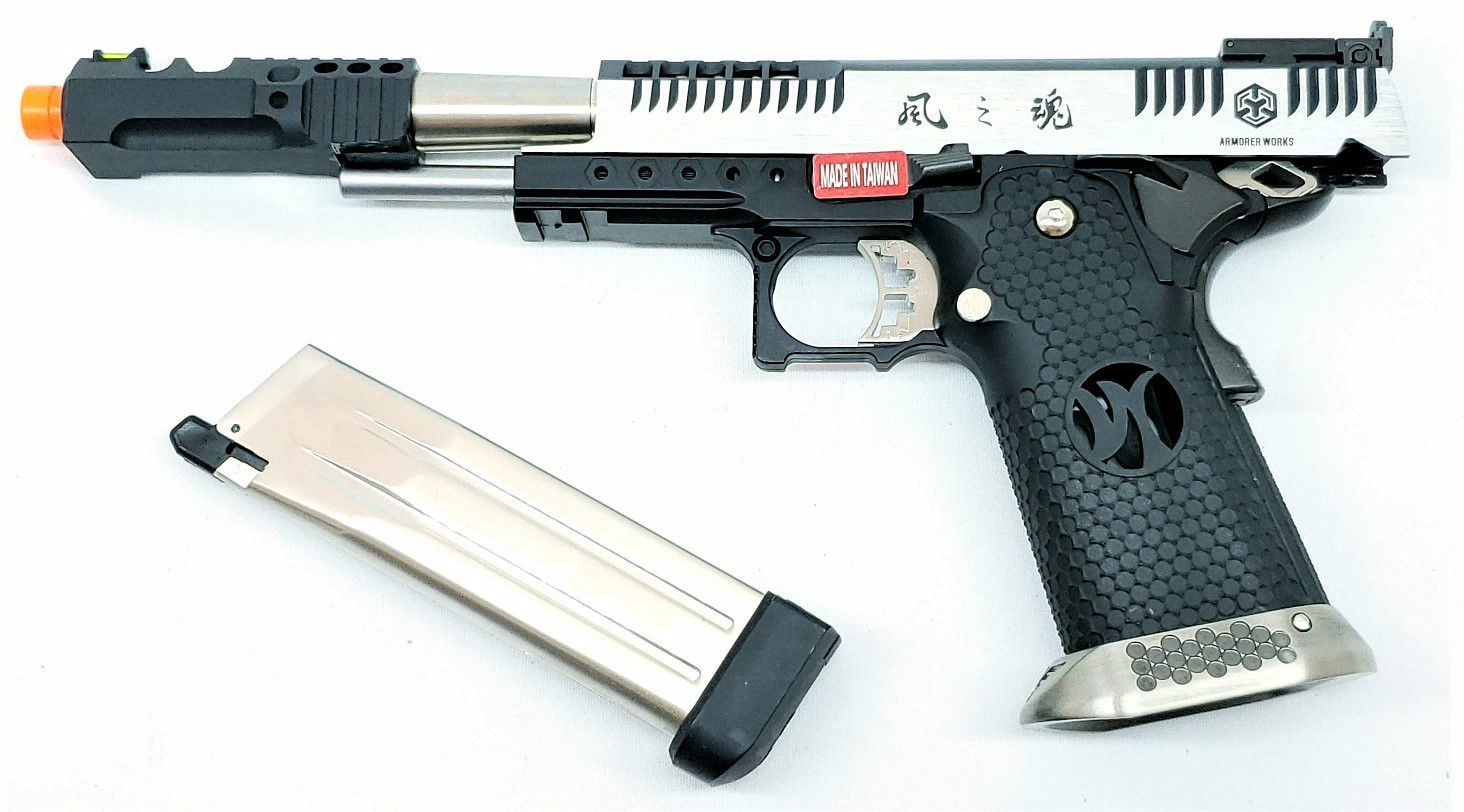 Pistola Airsoft Armorer Works Hicapa HX2401 Supercomp