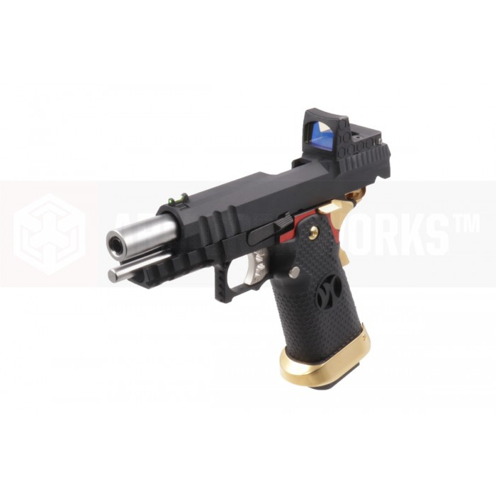 Pistola Airsoft Armorer Works Hicapa HX2601 com dot