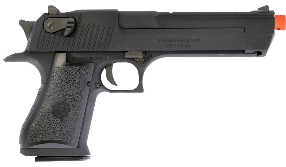 Pistola Airsoft Cybergun Desert Eagle Full Metal Bk
