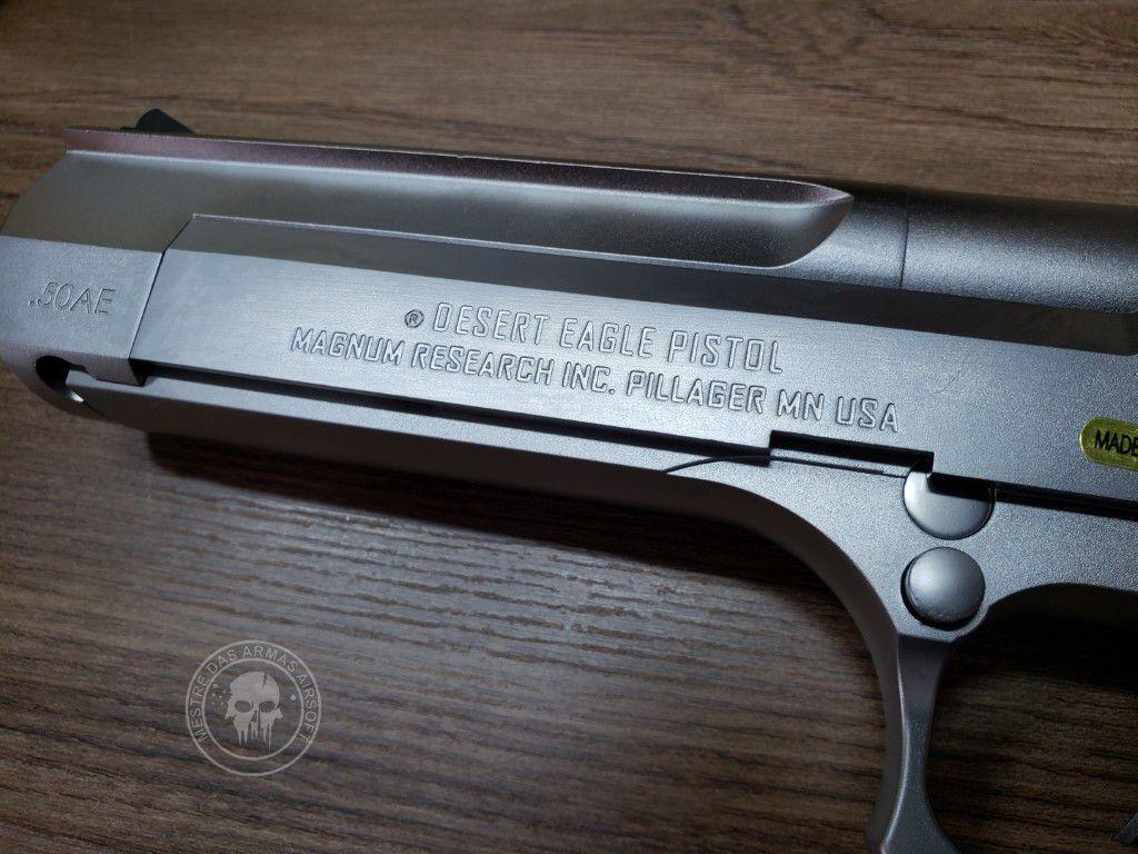 Pistola Airsoft Cybergun Desert Eagle Full Metal Sv