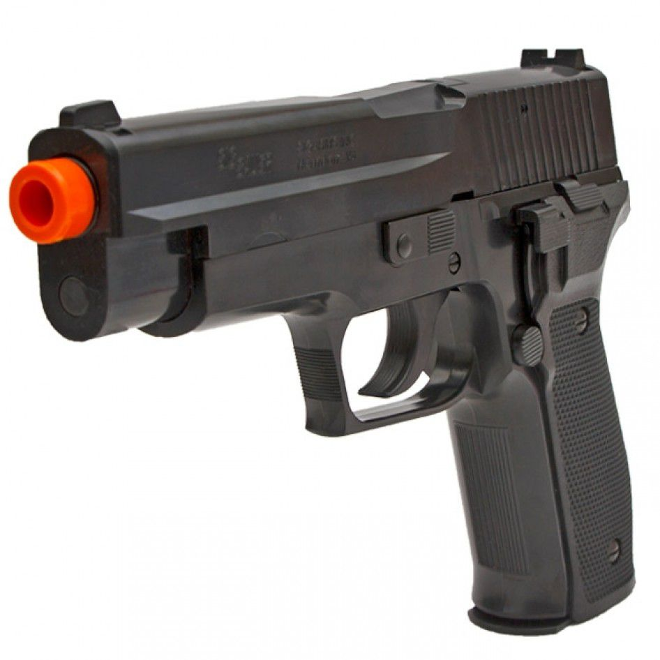 Pistola Airsoft Cyma AEP P226 BLK CM122