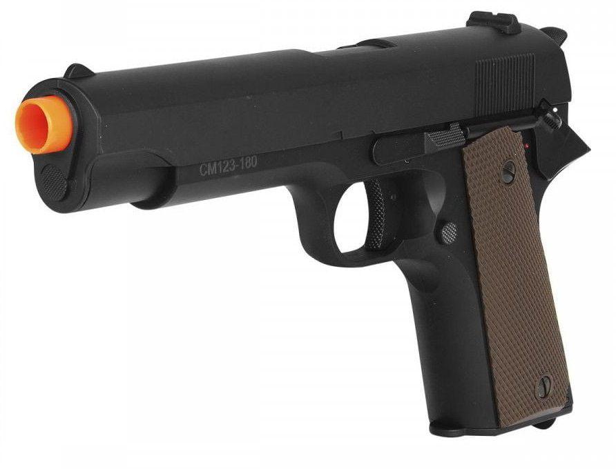Pistola Airsoft Cyma AEP Cm123 1911 Eletrica