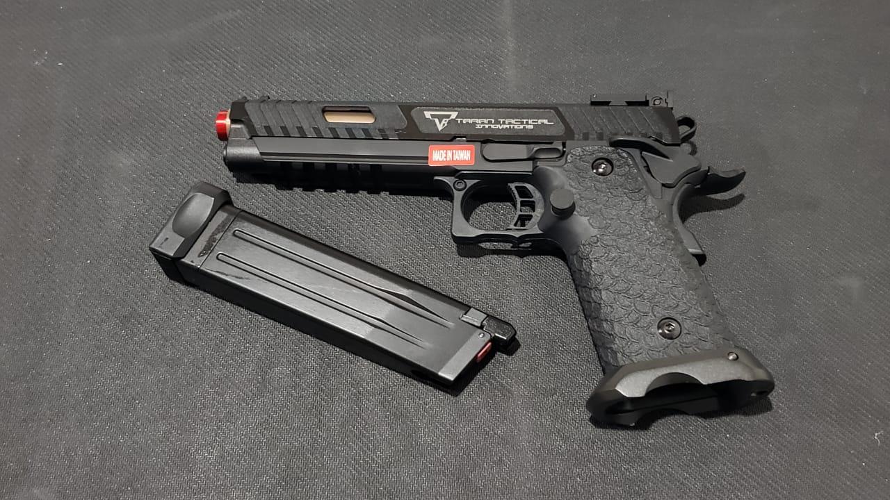 Pistola Airsoft EMG Combat Master 3 John Wick TT-CM0100