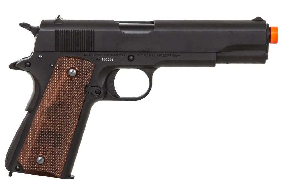 Pistola Airsoft G&g 1911 Preta