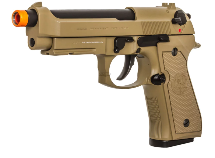 Pistola Airsoft G&G M92 GPM92 Tan