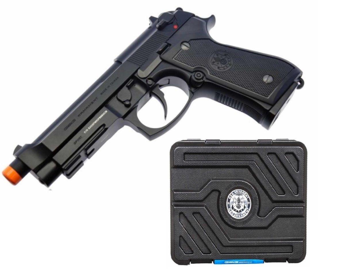 Pistola Airsoft G&G M92 GPM92 Preta