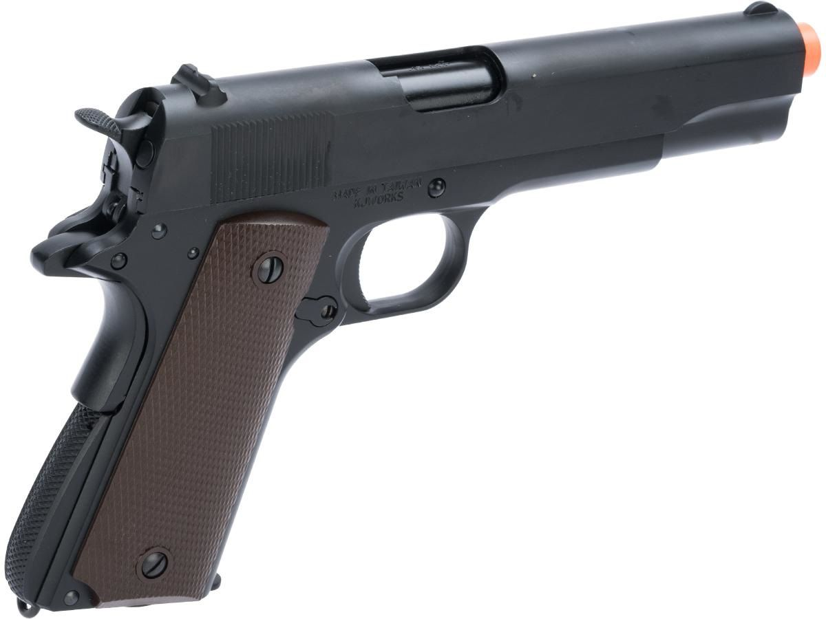 Pistola Airsoft KJW 1911 Blowback