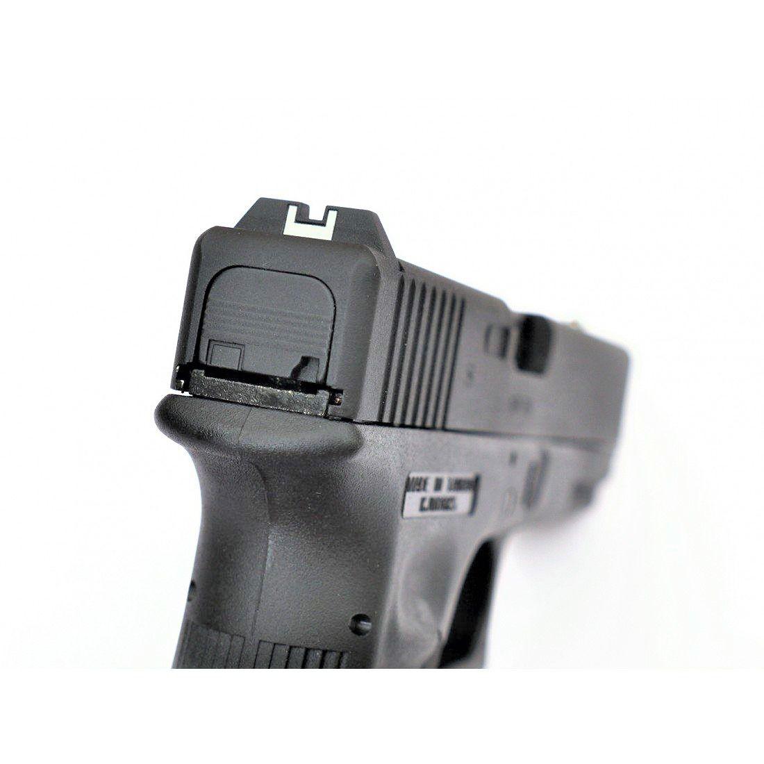 Pistola Airsoft KJW Glock G17 Kp17 Preta