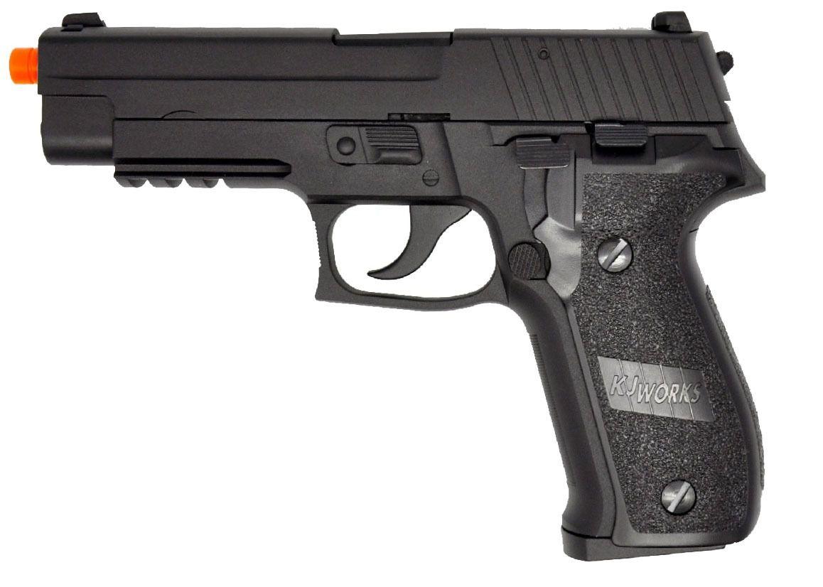 Pistola Airsoft KJW Kp01 P226 Greengas