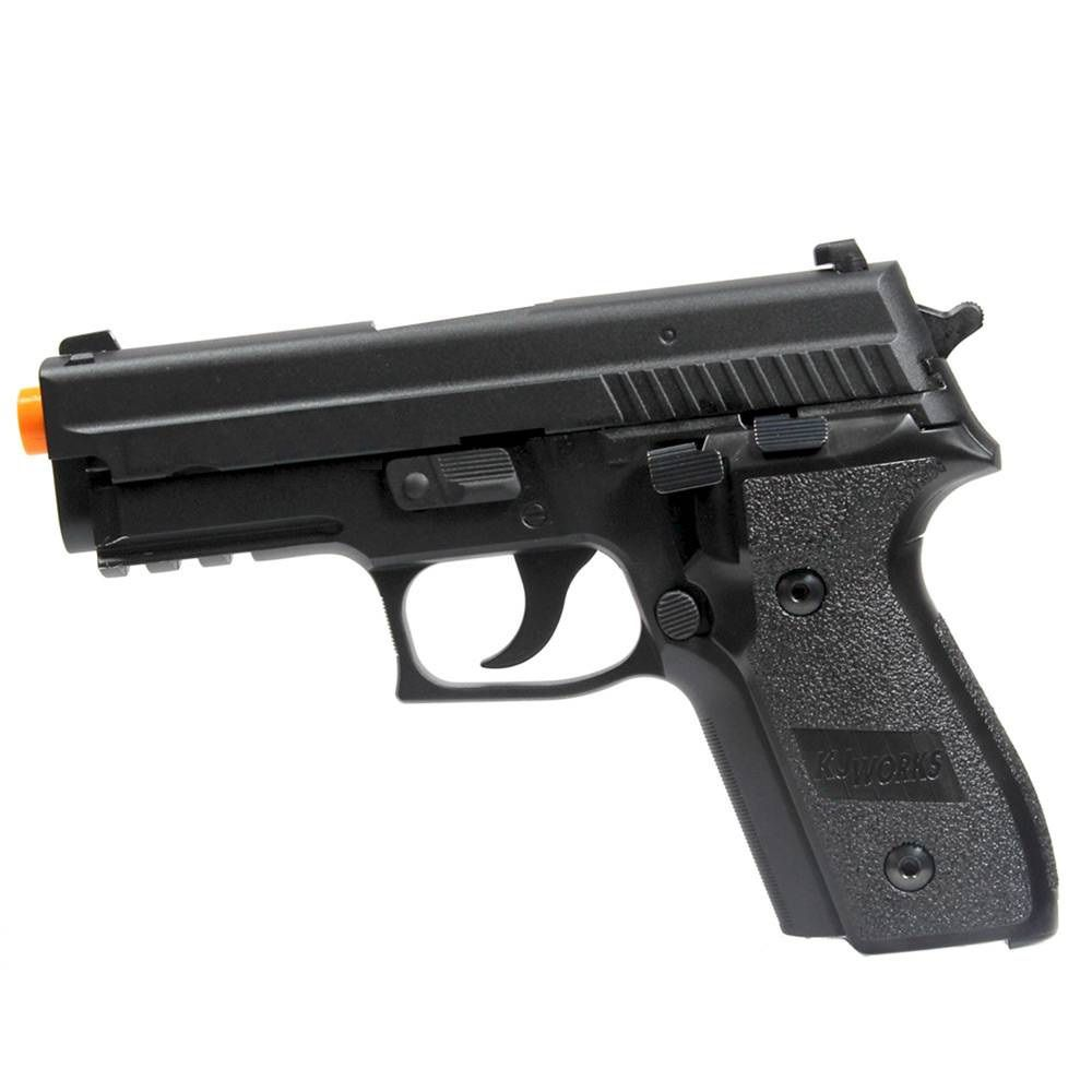 Pistola Airsoft KJW KP02 P229 Metal