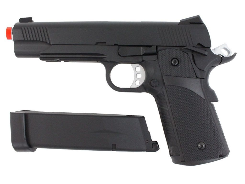 Pistola Airsoft KJW Kp5 Full Metal Greengas