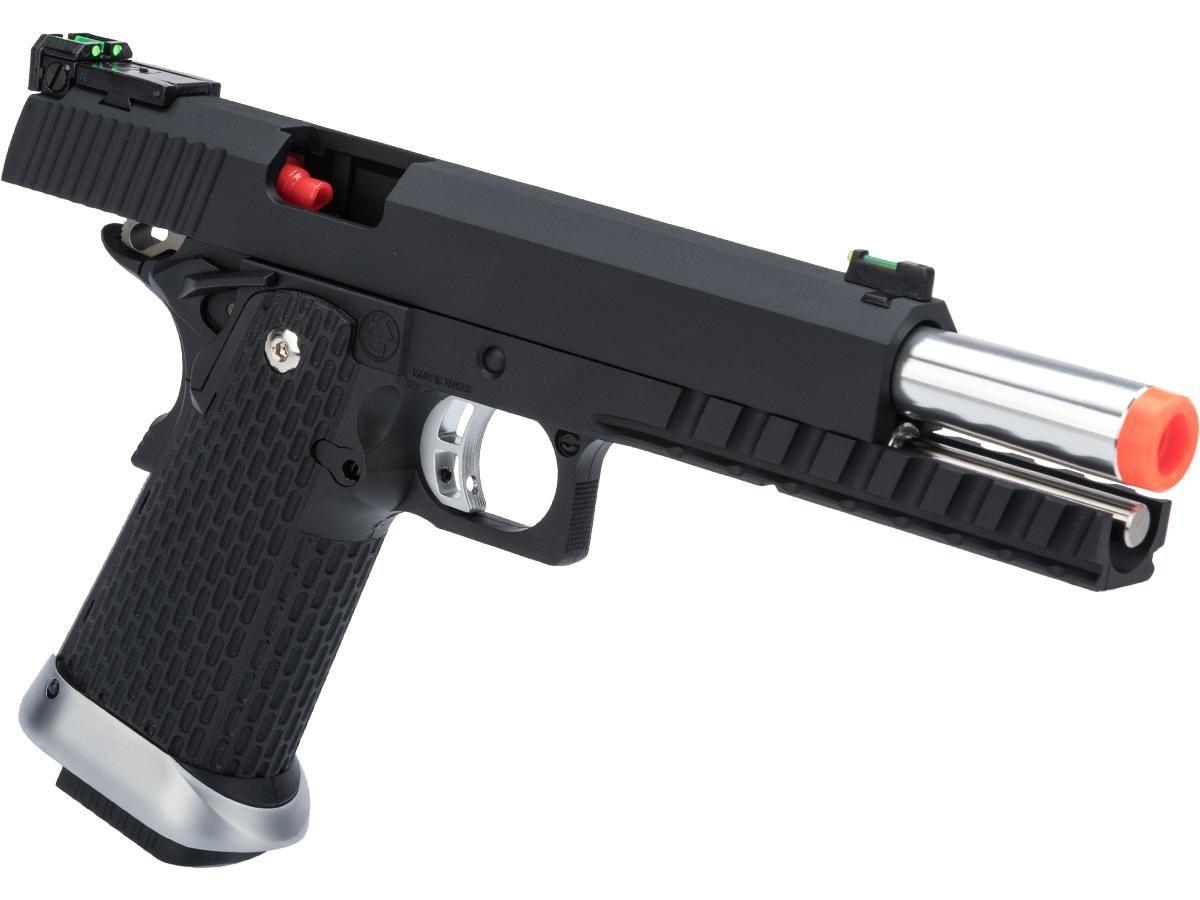 Pistola Airsoft KJW Kp6 Full Metal Greengas