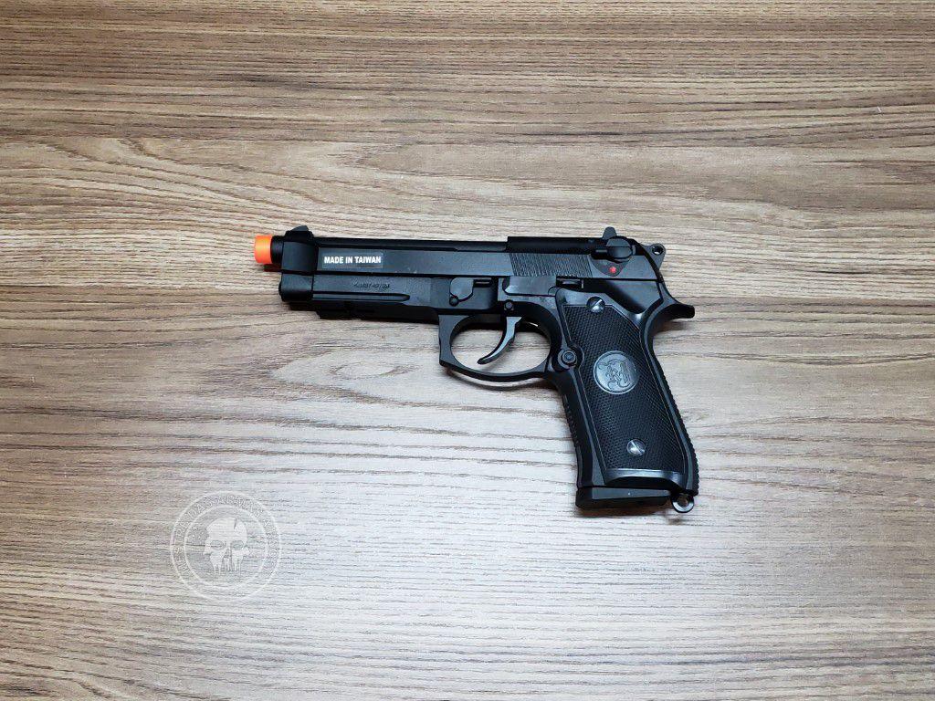 Pistola Airsoft KJW M9a1 Preta Greengas
