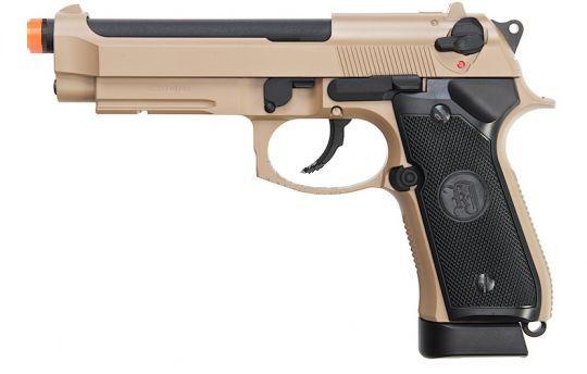 Pistola Airsoft KJW M9a1  Tan GBB