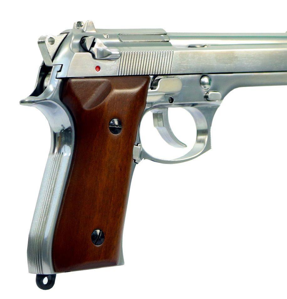 Pistola Airsoft SRC Sr92 M92 Cromada Wood