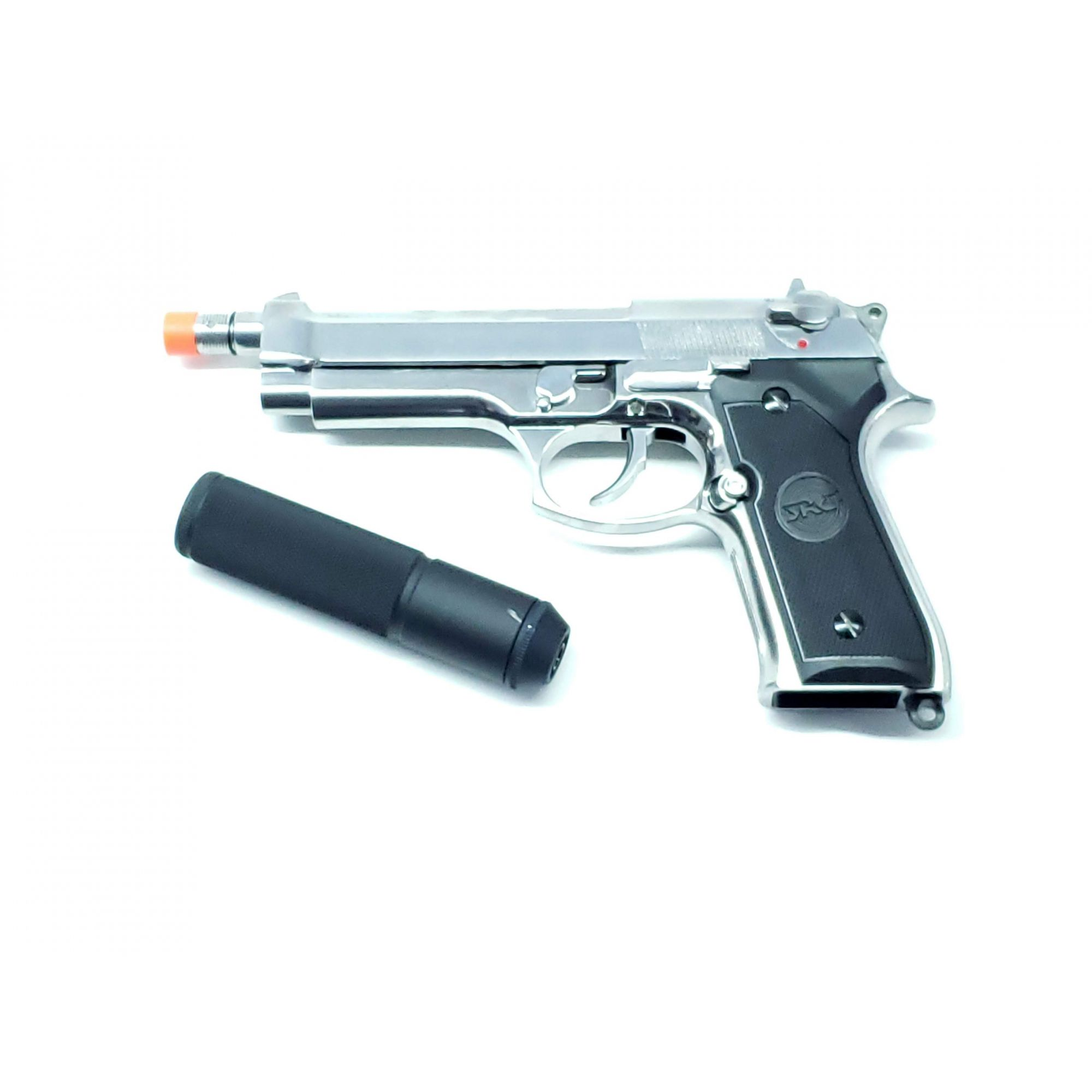 Pistola Airsoft SRC Sr92 Sp M92 Greengas