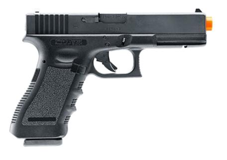 Pistola Airsoft Umarex G17 com marcações