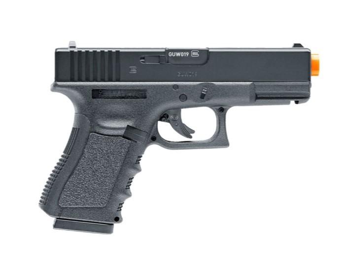 Pistola Airsoft Umarex G19 com marcações