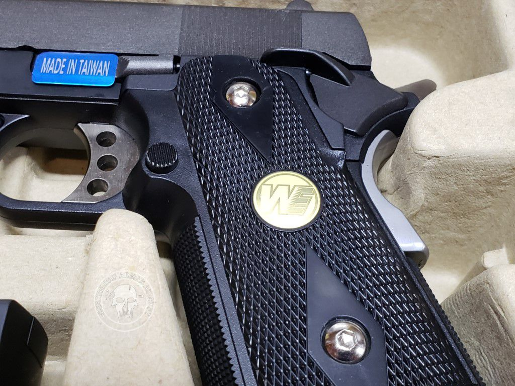 Pistola Airsoft WE 1938 Hicapa Baby Mod: 45a