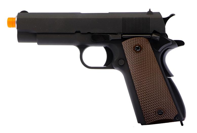 Pistola Airsoft WE 1943 Preta Full Metal  1911