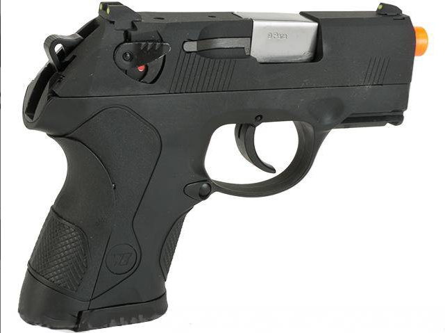 Pistola Airsoft WE Bulldog mini BK