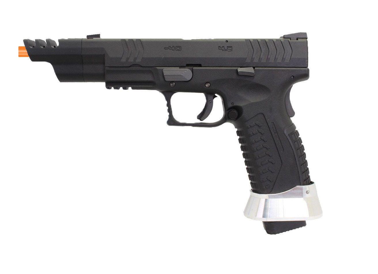 Pistola Airsoft WE GBB X-SER 4.5 IPSC VERSION 6mm