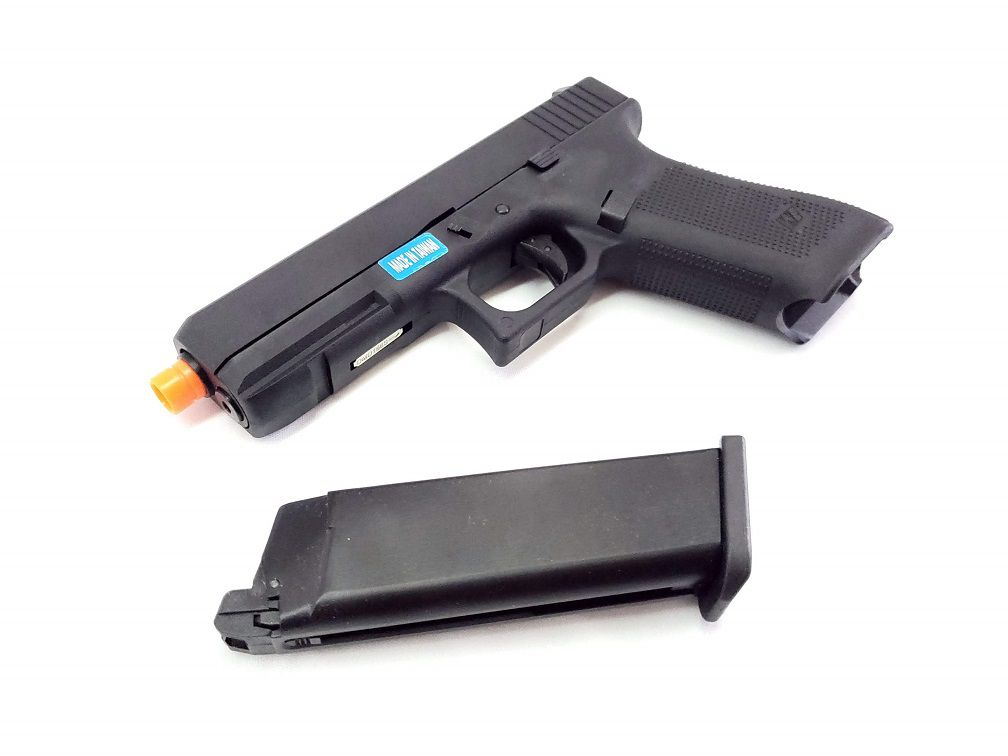 Pistola Airsoft WE Glock G17 Gen5 Black