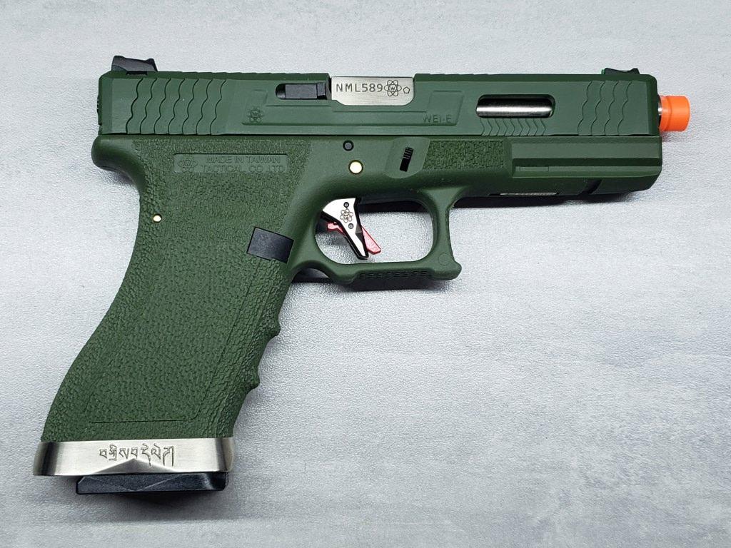Pistola Airsoft WE Glock G18 T12