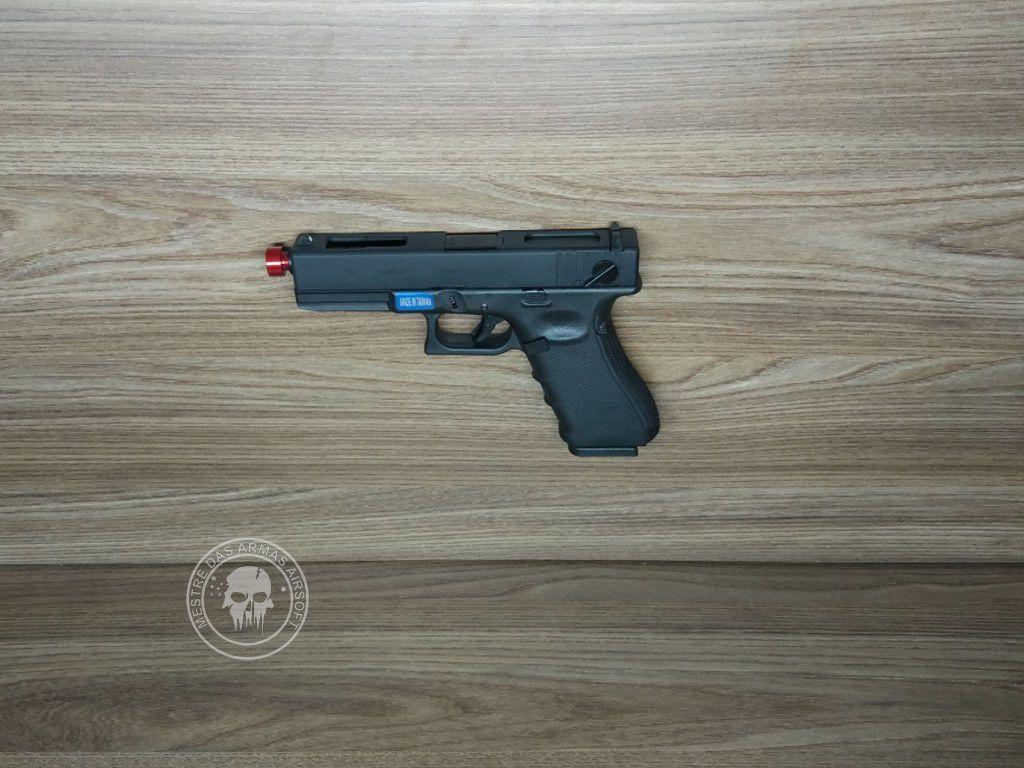 Pistola Airsoft WE Glock G18c G18 Gen4