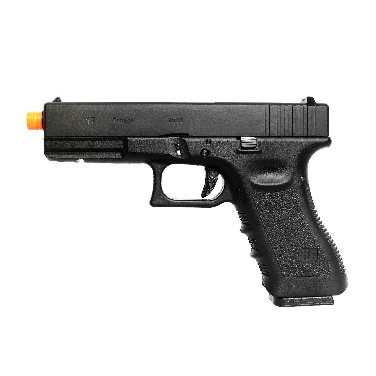 Pistola Airsoft WE Glock G19 Gen4 Mesmo Tamanho G25