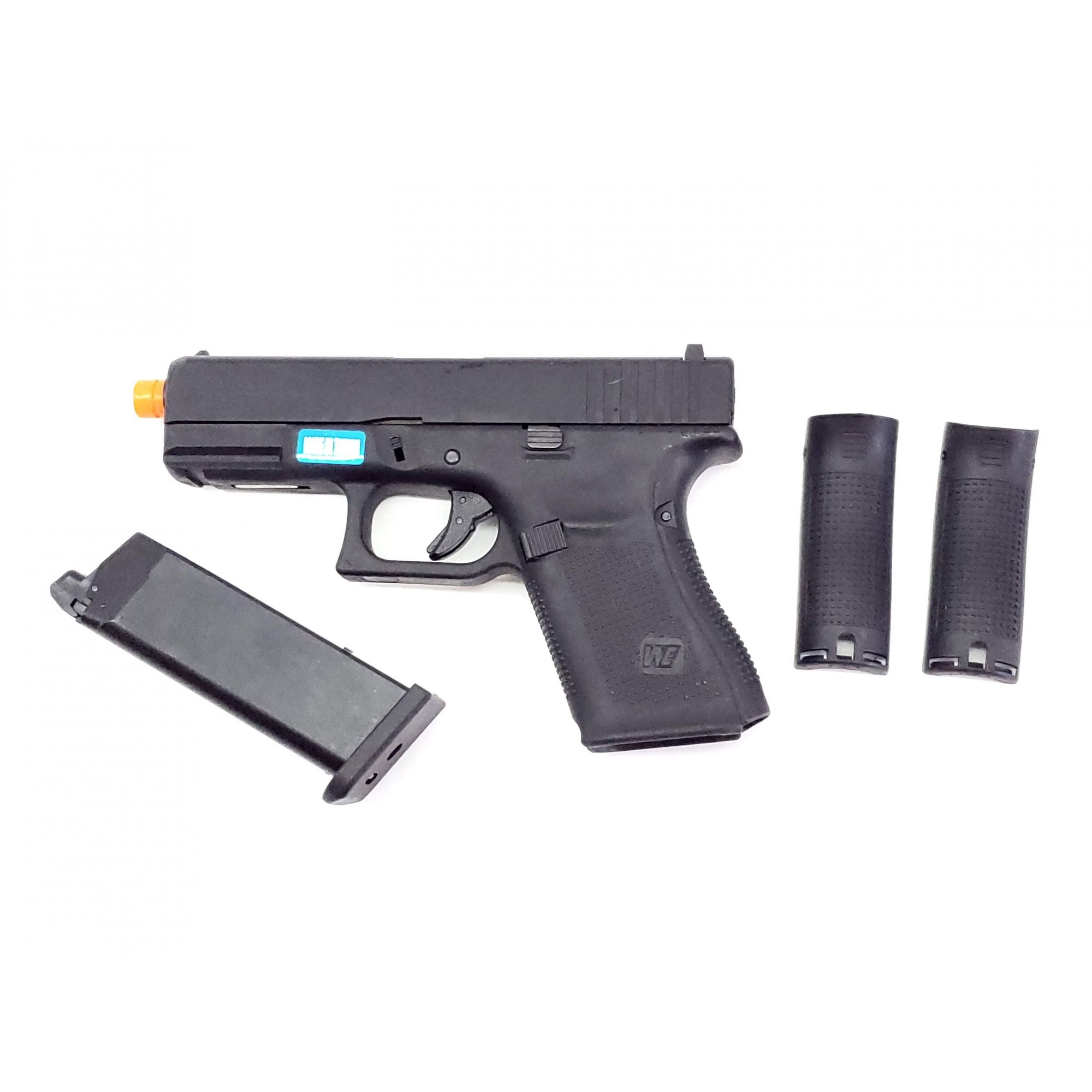 Pistola Airsoft WE Glock G19 Gen5 Mesmo Tamanho G25