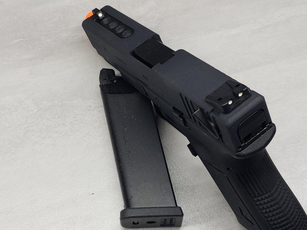 Pistola Airsoft WE Glock G23 G3 Black