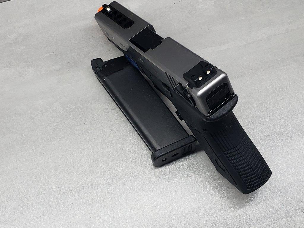 Pistola Airsoft WE Glock G23 G3 Silver
