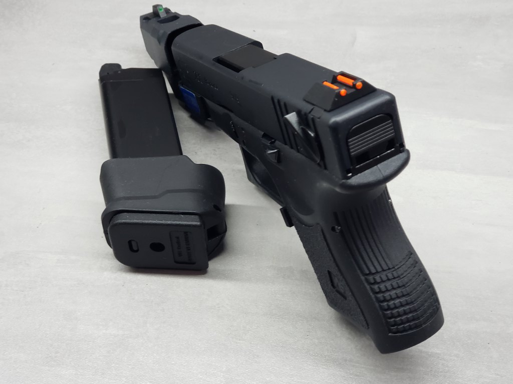 Pistola Airsoft WE Glock G26 ADV Black