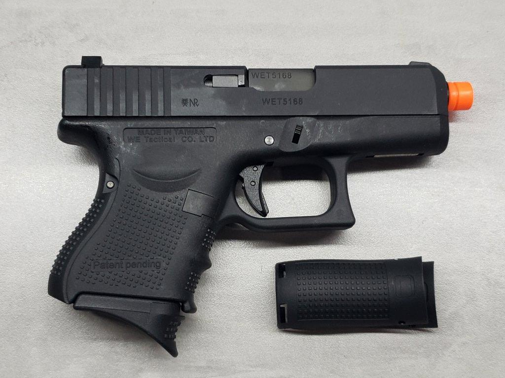 Pistola Airsoft WE Glock G26 G4 Black