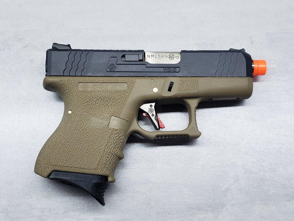 Pistola Airsoft WE Glock G26 T02