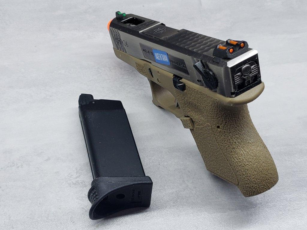 Pistola Airsoft WE Glock G26 T08